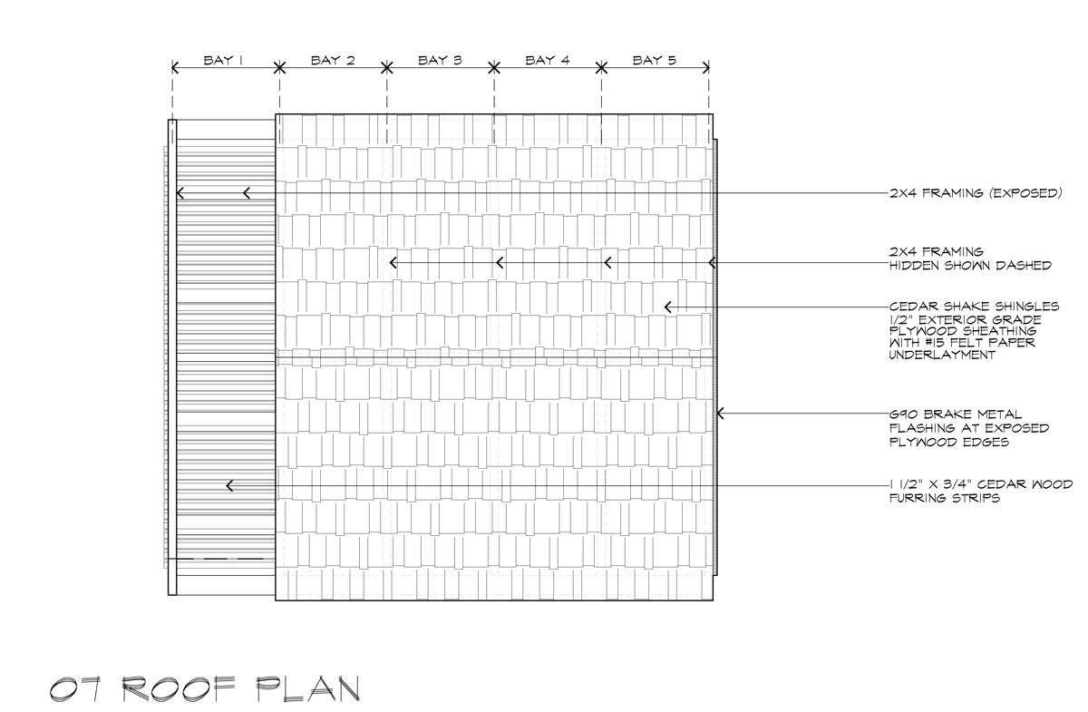Lantern Playhouse 07 Roof Plan