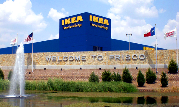 Frisco Texas Welcome Ikea