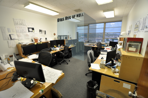 """The office sweat shop ... Bob's """"Box of Hell"""""""