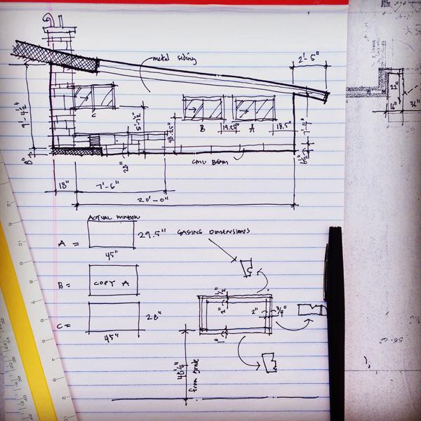 as built elevation documentation