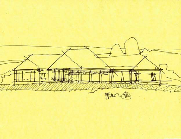 country house charette drawing 03