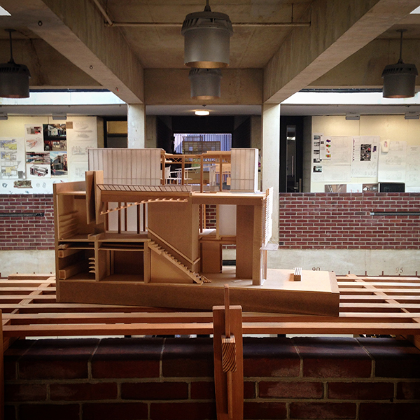 University of Maryland School of Architecture model