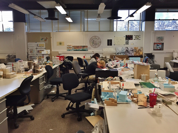 Illinois Institute of Technology: 3rd Year studio, aftermath of midterm reviews