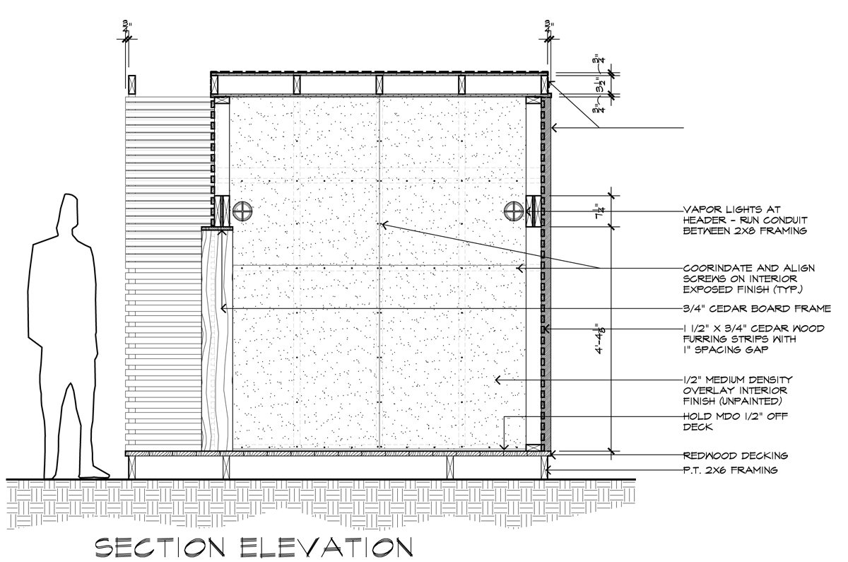 I am an architect and i draw for a living life of an architect lantern house section elevation baanklon Choice Image