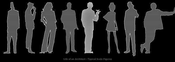 Life of an Architect Typical Scale Figures