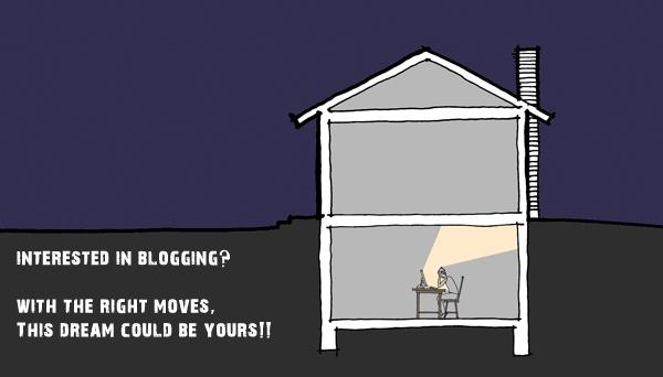 Blogging in your parents basement