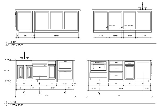 Jackie Vargas - SZW Kitchen Design Contest - Island Elevations 01