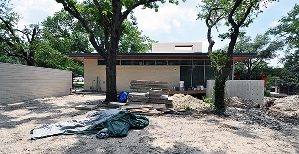 KHouse Modern Exterior looking at Master Bedroom