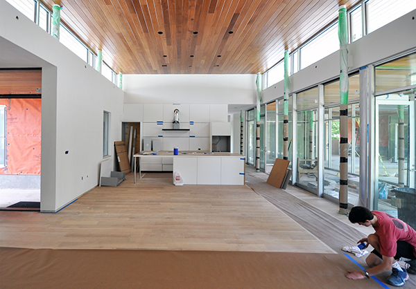 KHouse Modern Main Living Room looking towards kitchen 02