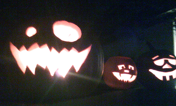 Bob Borson Halloween Pumpkins 2013