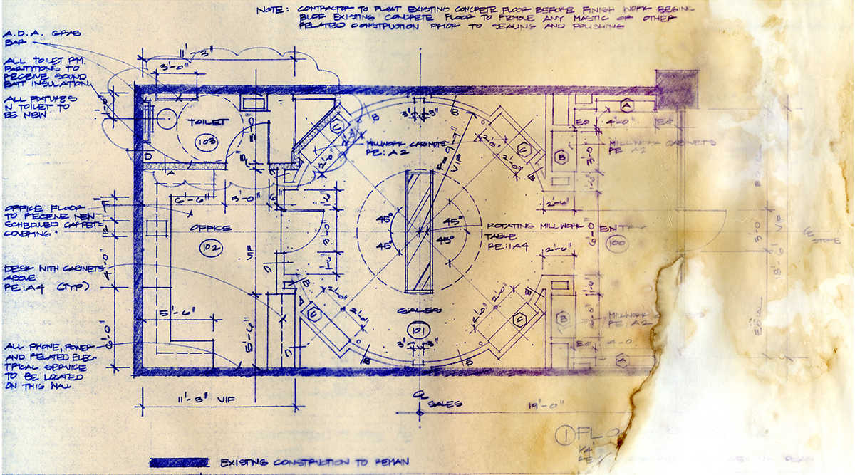 Bob Borson - Occhiali Floor Plan edit