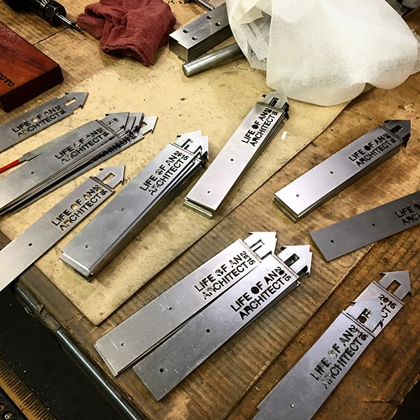 LoaA Playhouse Trophy prototype metal