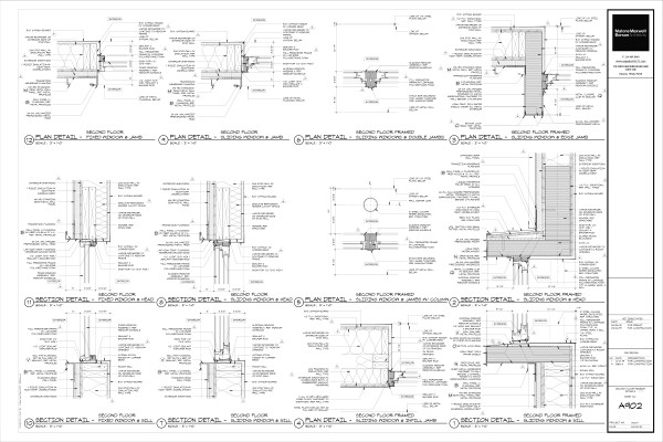 Modern House Drawings Bob Borson A902