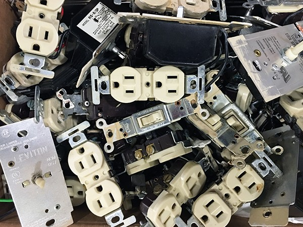 discarded outlets