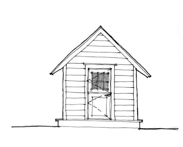 Cottage Playhouse Sketch