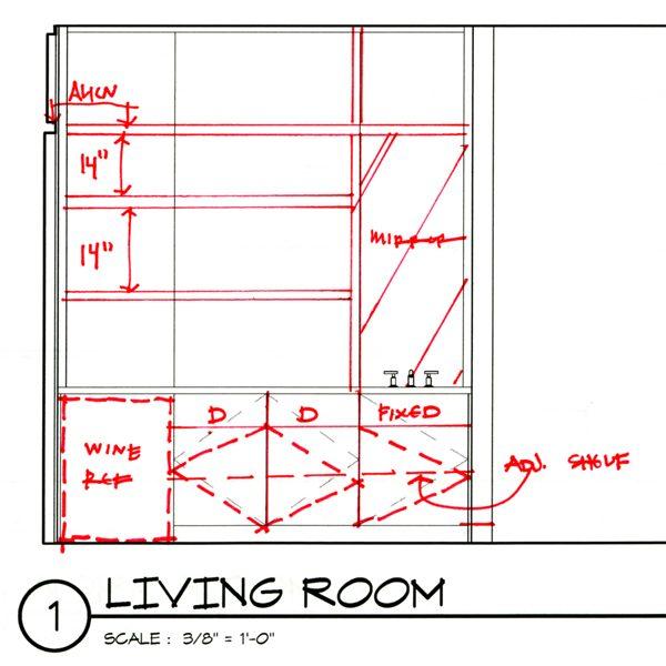 Cabinet Design Redlines