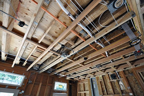 Kitchen Ceiling - Electrical