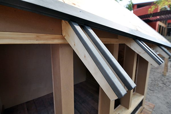 The Cottage House Rafter Protection