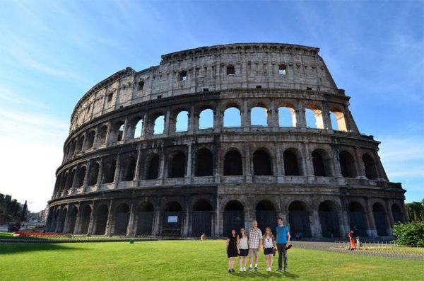 The Roman Colloseum Group