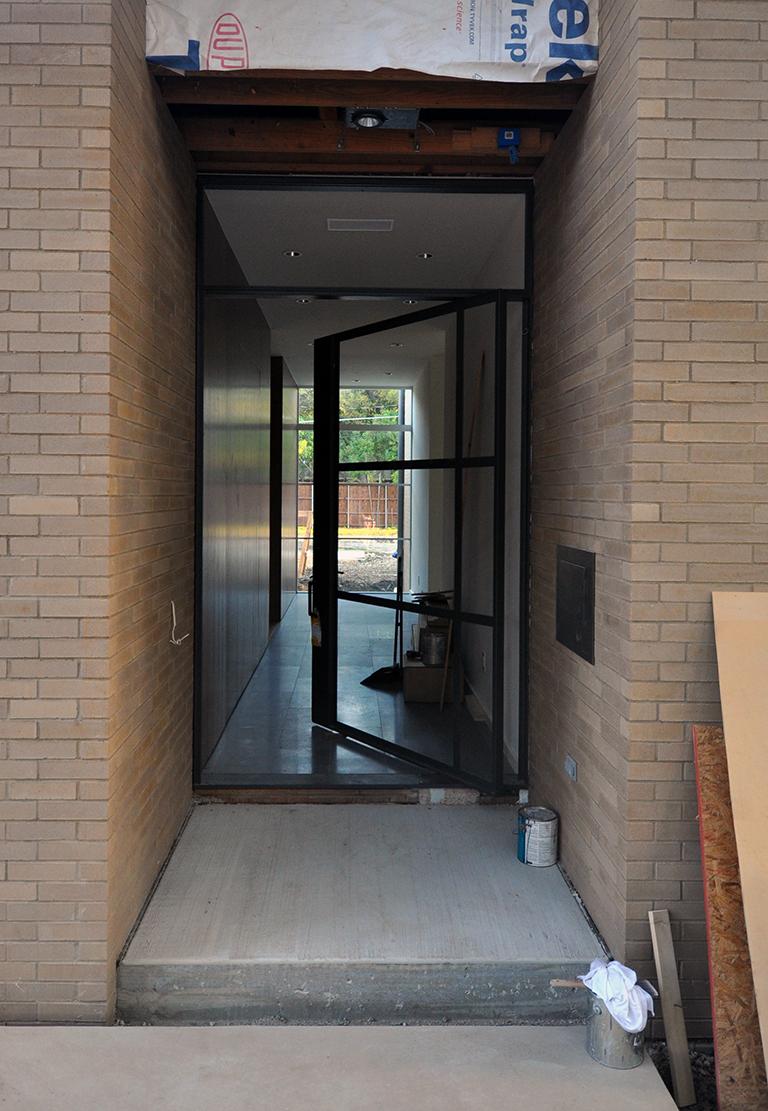 off center pivot door metal frame & Off Center Pivot Door and 45 Seconds   Life of an Architect Pezcame.Com