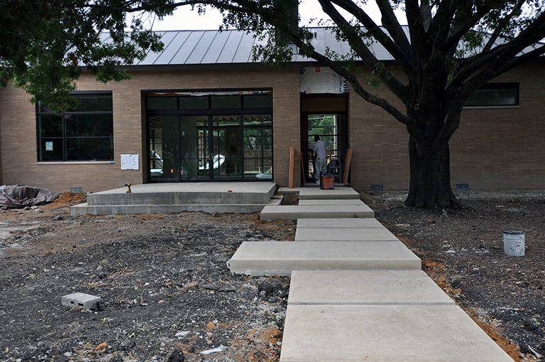 Modern Concrete Sidewalks Floating Pads Life Of An