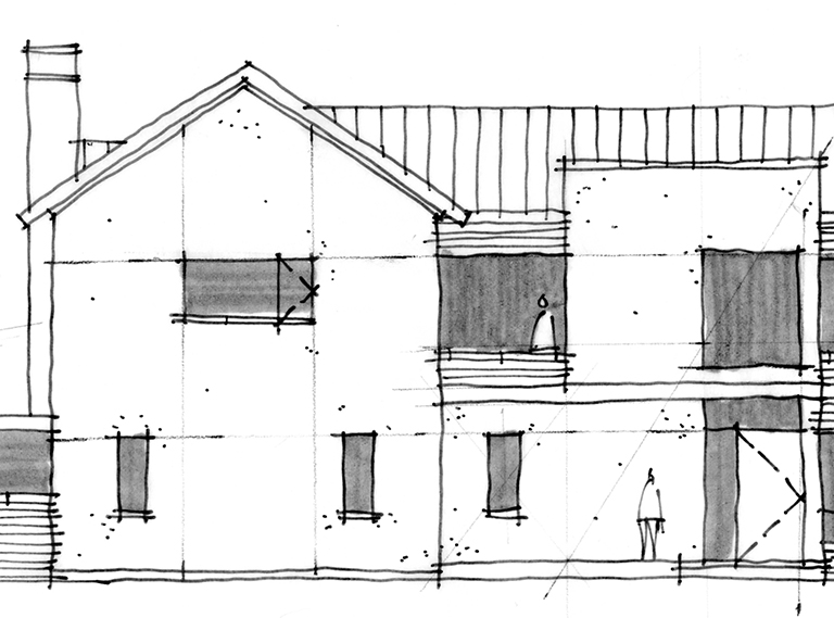 Architectural Sketches - Sketchapalooza 2