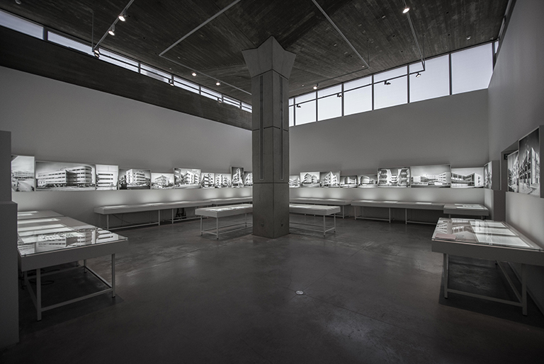Architecture in Palestine During the British Mandate Exhibition   photo by Or Kaplan