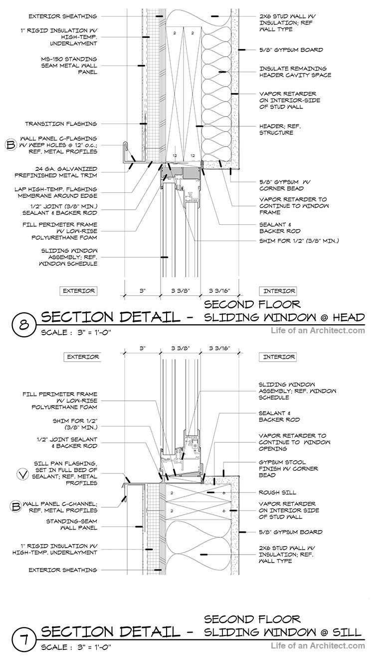 Architectural Graphics: Detail Notes and Alignment