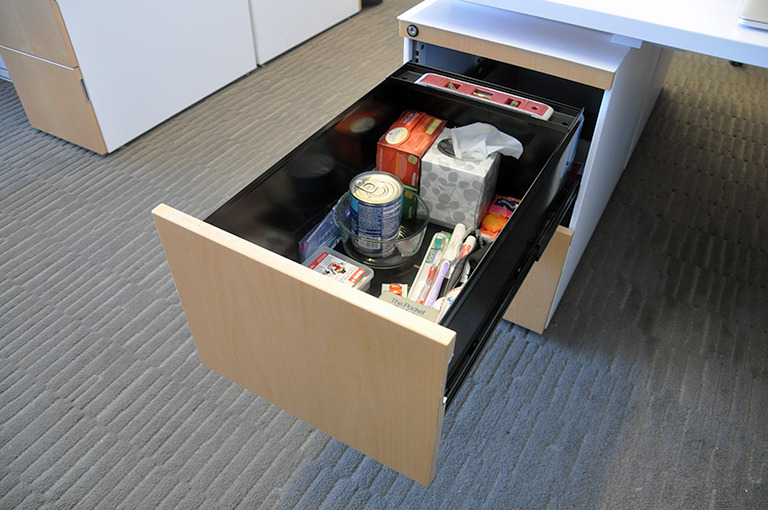Bob Borson's office junk drawer