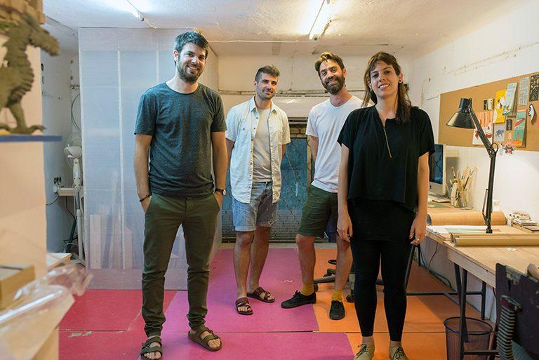 The Founders of Savioney Levinsky Studio