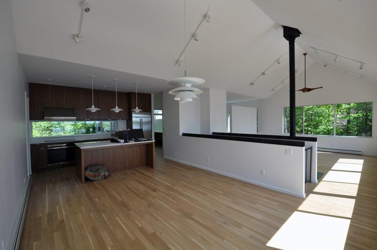 Modern Cabin Dining Room