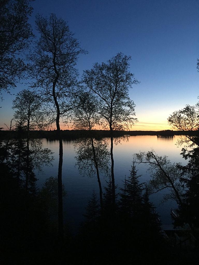 Modern Cabin - Sunset