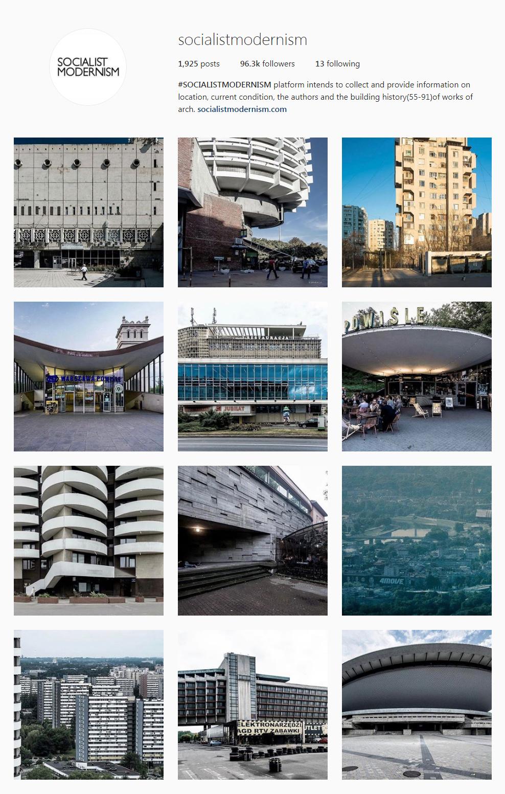 Best Architectural Instagram Feeds of 2017 - Socialist Modern