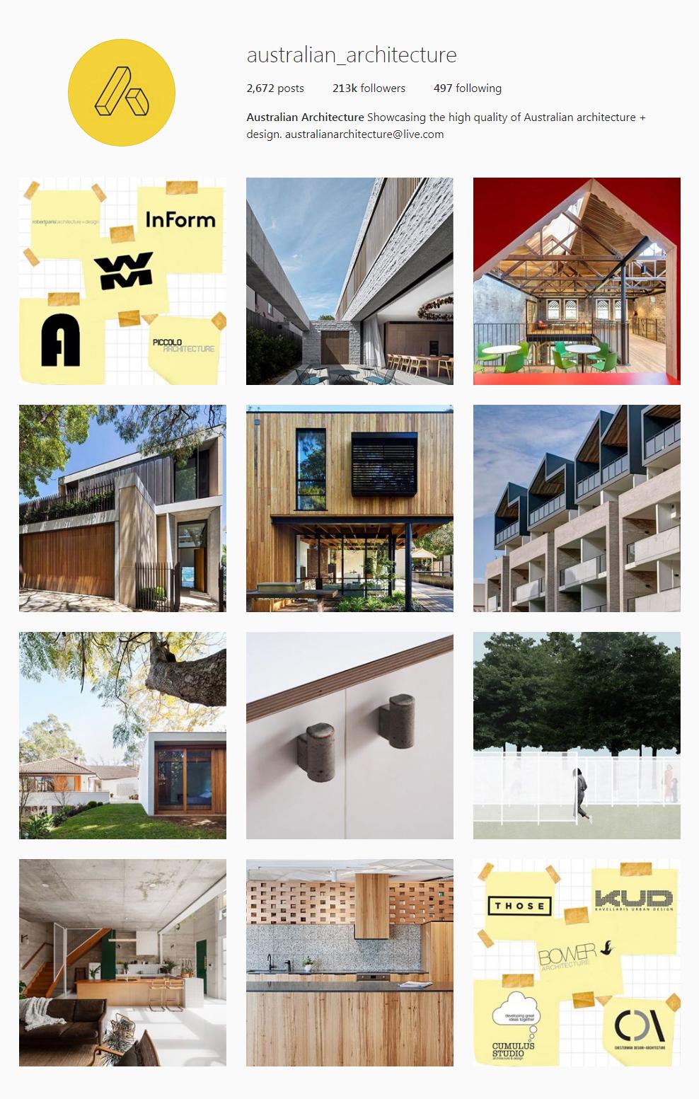 Best Architectural Instagram Feeds Of 2017   Australian_architecture
