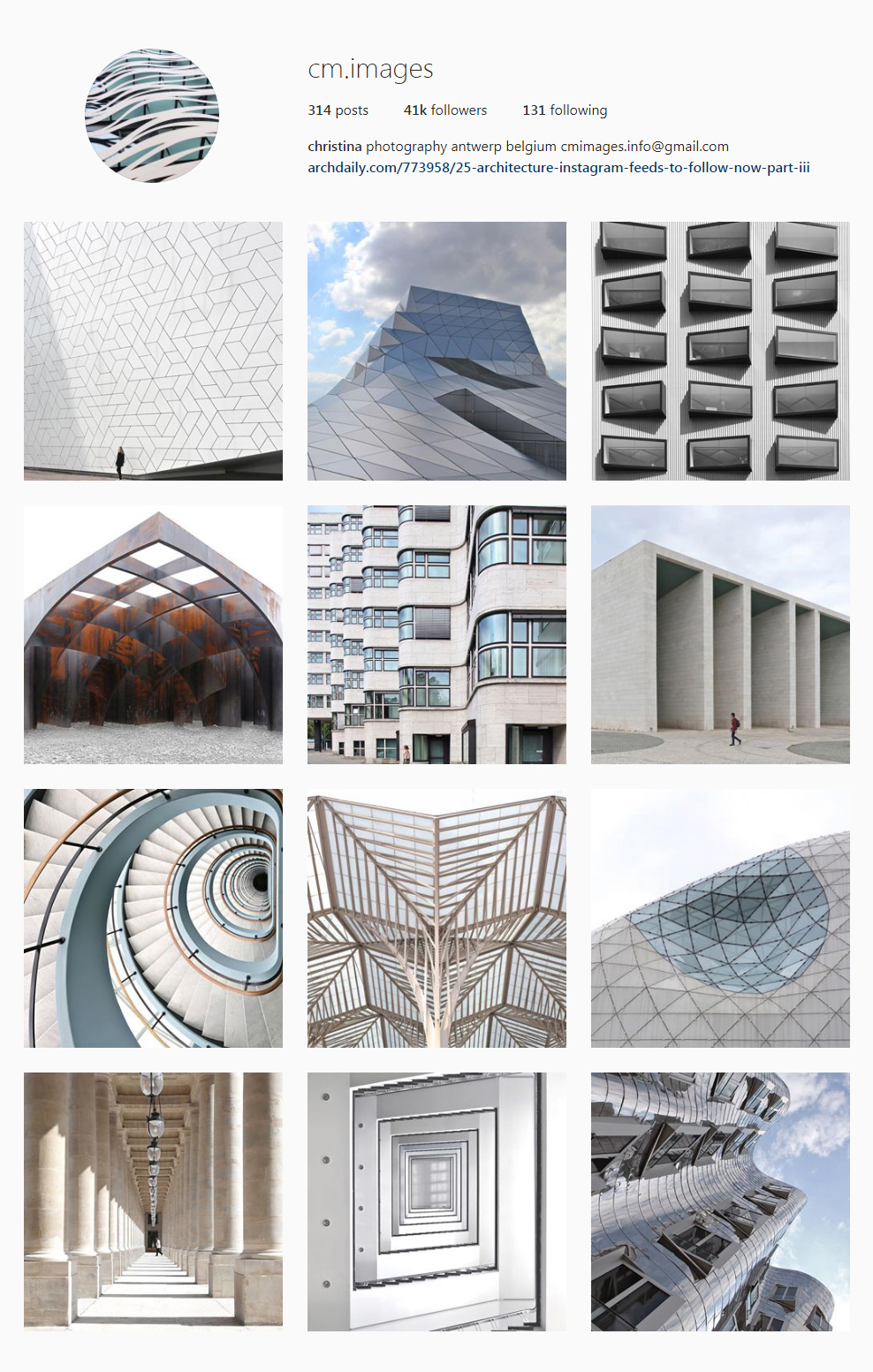 Best Architectural Instagram Feeds of 2017 - cm images
