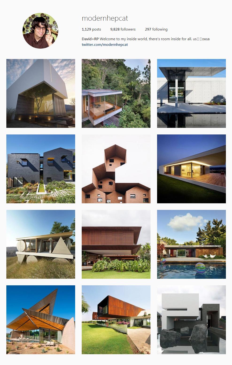 Best Architectural Instagram Feeds of 2017 - modernhepcat