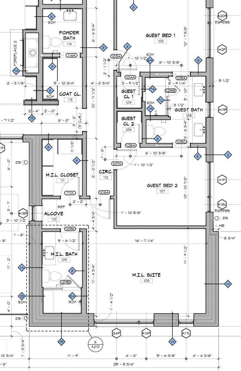 Architectural Graphics 101 Wall Types shown in Plan