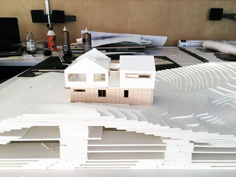 Cabin Model 04 - Malone Maxwell Borson Architects
