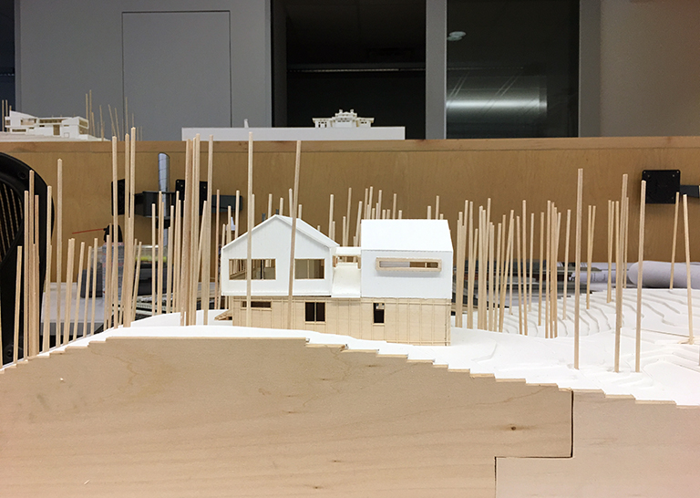 Cabin Model 08 - Malone Maxwell Borson Architects
