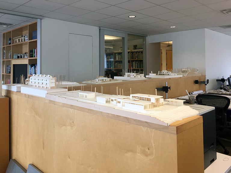 Example of Architectural Models at Malone Maxwell Borson Architects