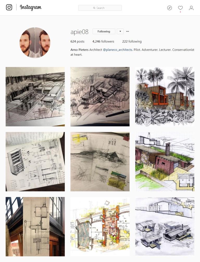 apie08 Instagram - Sketching
