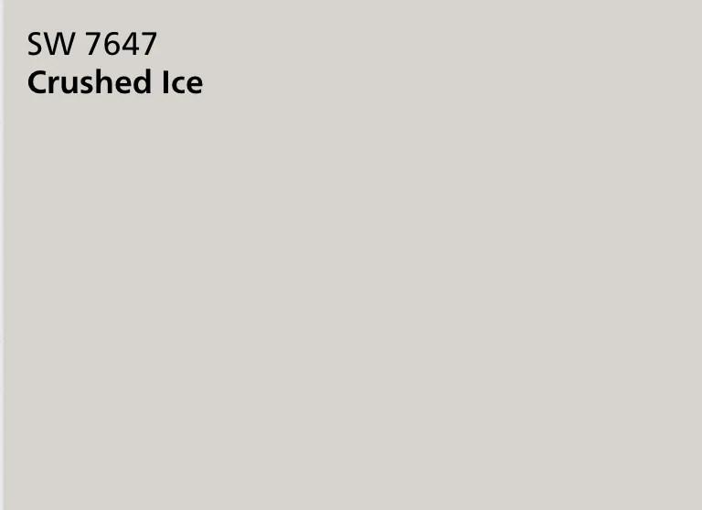 Sherwin Williams Crushed Ice 7647