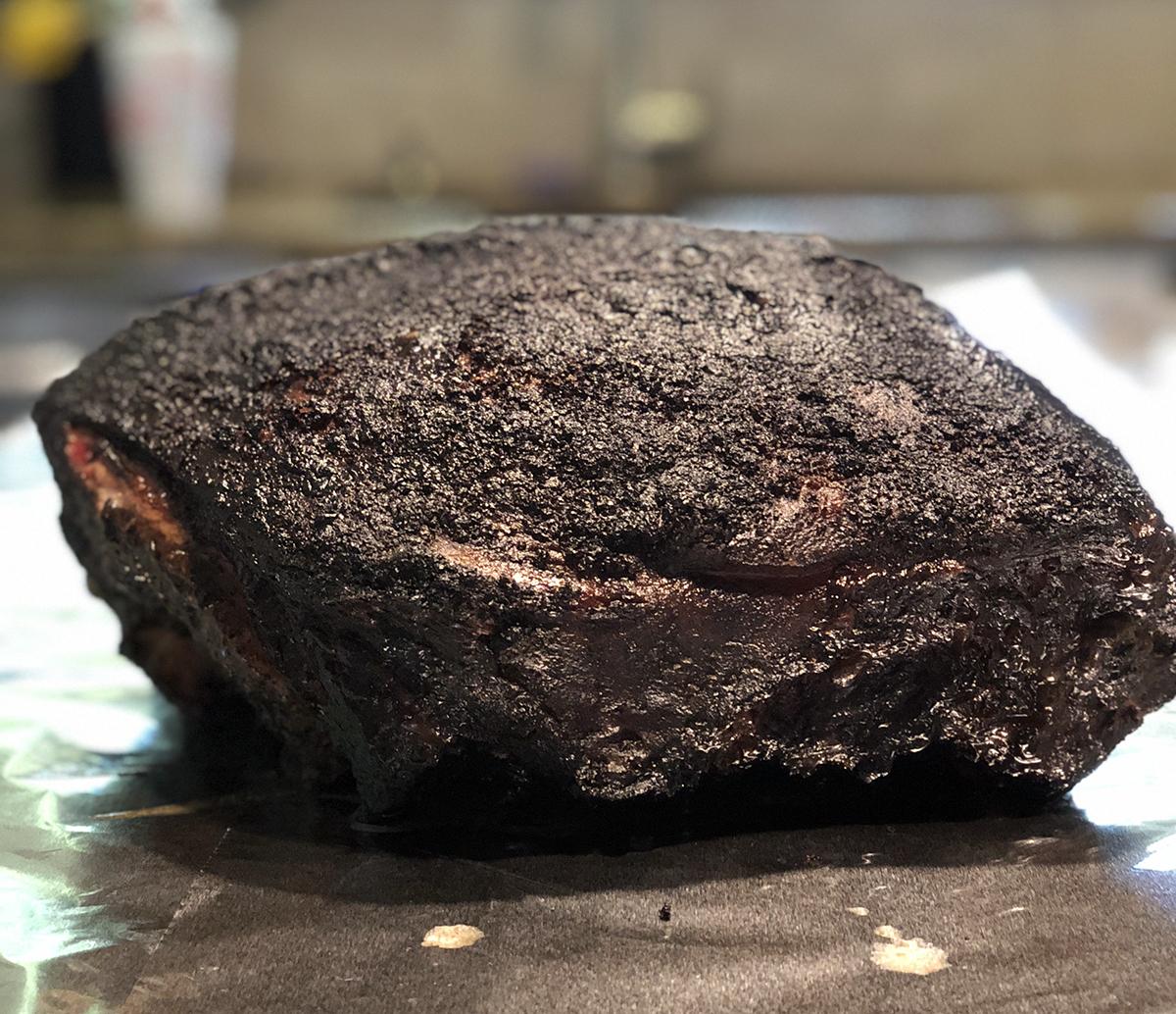 Smoked Pork butt ready to wrap 01