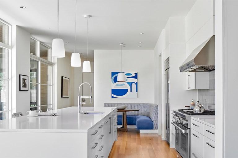Large kitchen Island - Prestonshire Residence