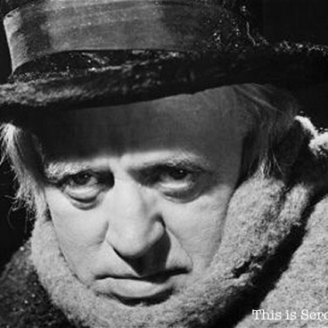 This is Ebenezer Scrooge, not Bob Borson