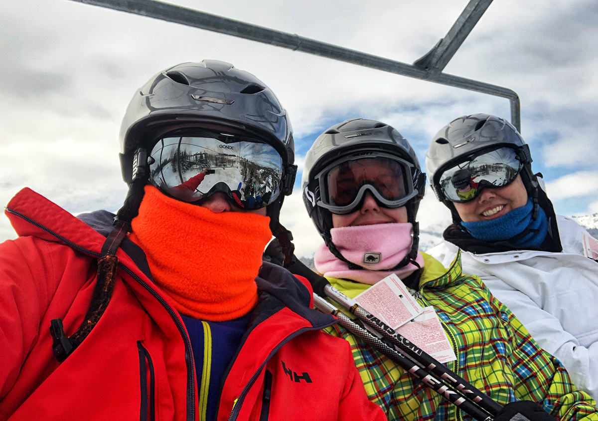Borson Family Deer Valley Ski trip 2018
