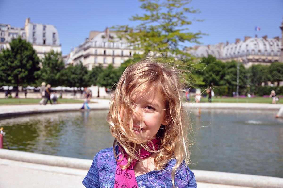 Kate Borson in Paris June 2010