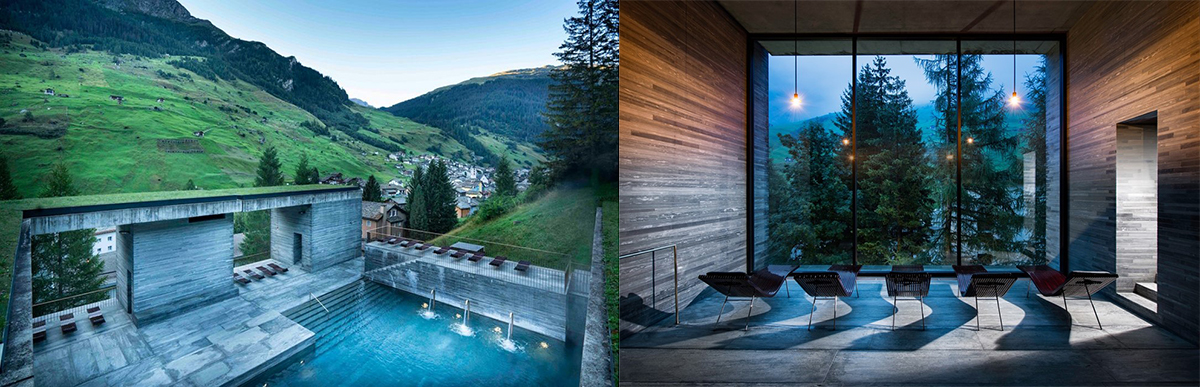 7132 Therme & Spa Vals by Peter Zumthor