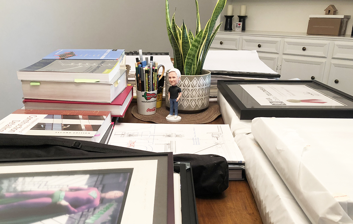 Bob Borson - Boxing up my office