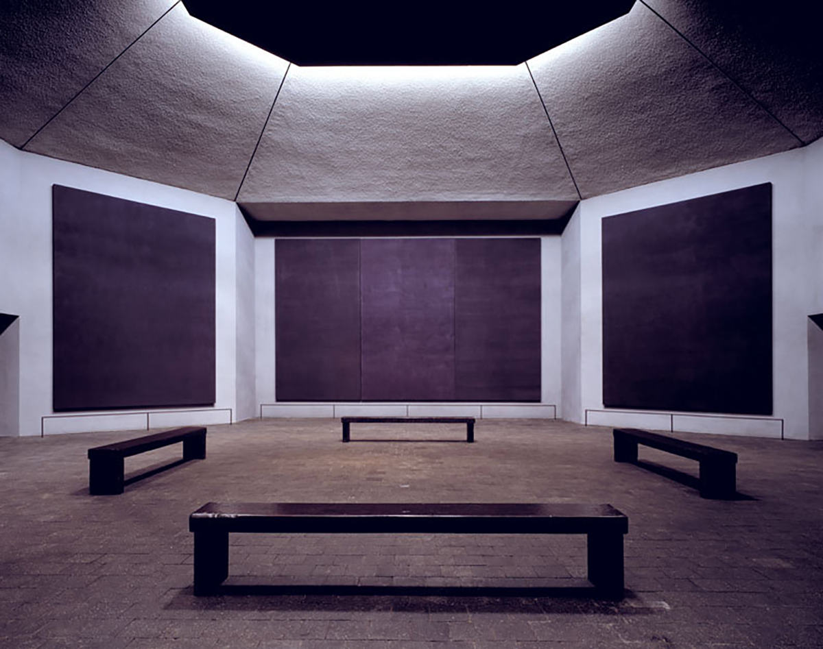 Rothko Chapel - Interior